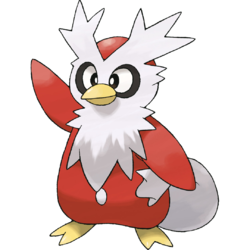 Look at how handsome little Delibird is!
